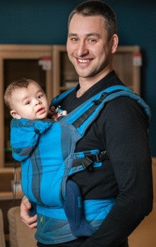 Lenny Lamb Ergonomic Carrier Ocean Depth