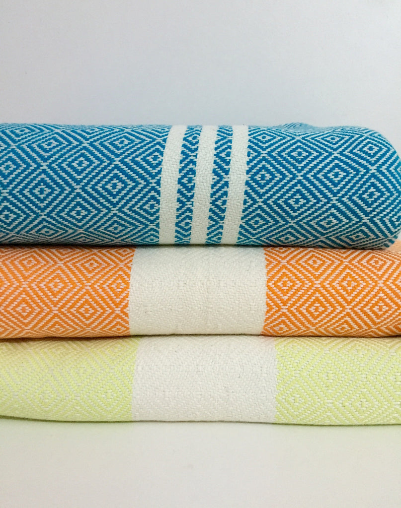 Turkish Towel Handwoven Baby wraps Diamond weaves