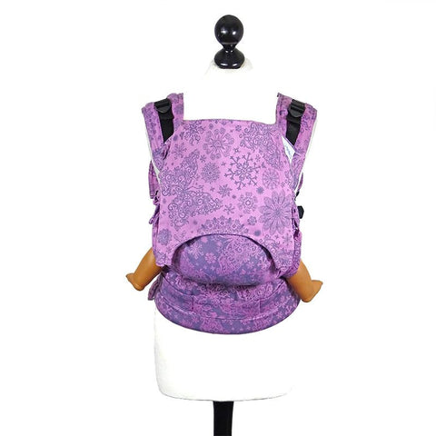 Fidella Fusion Toddler size babycarrier with buckles -Iced Butterfly violet