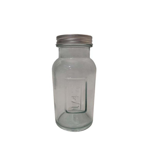 Bocal A/Cvcle Inox H13.5 250Cc Verre Recycle