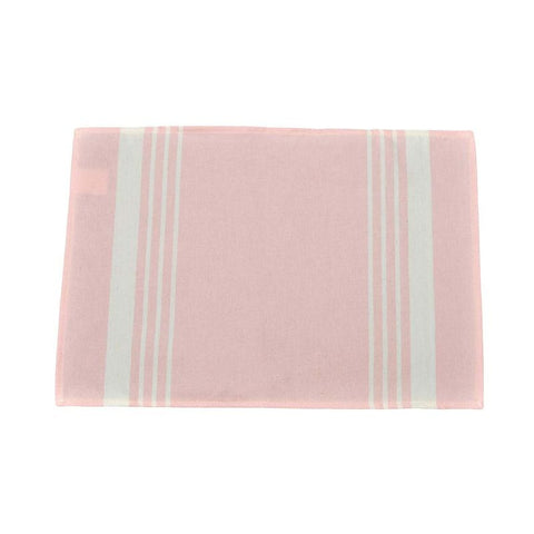 Set De Table 52X40 Pastel Rose Rayures