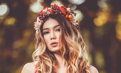 DIY: How to make a gorgeous flower crown in 7 easy steps