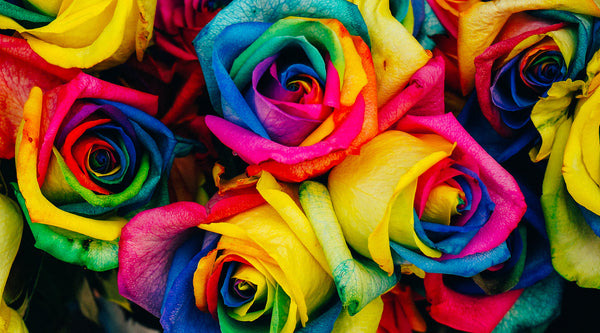How To Tie-Dye Cut Flowers In 3 Easy Steps