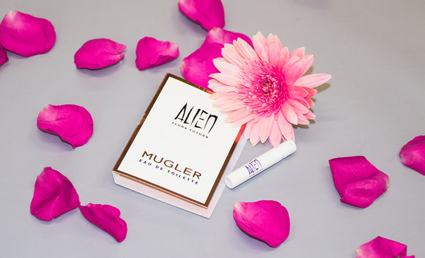 Celebrate the beauty of otherness with Alien Flora Futura by MUGLER