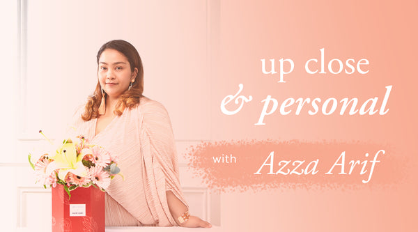 Up Close & Personal with Azza Arif