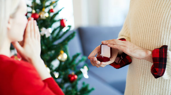 6 Unique Ways to Hide the Engagement Ring for Your Christmas Proposal