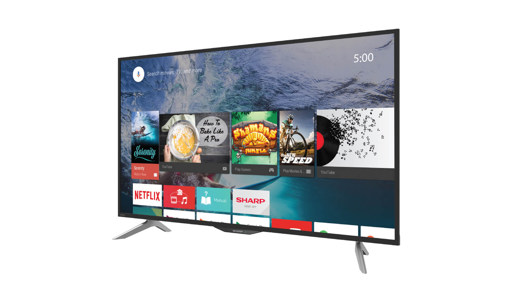 SHARP UHD 4K SMART LED 60''
