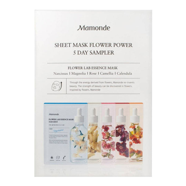 Mamonde Flower Lab Essence Mask (5 pcs)
