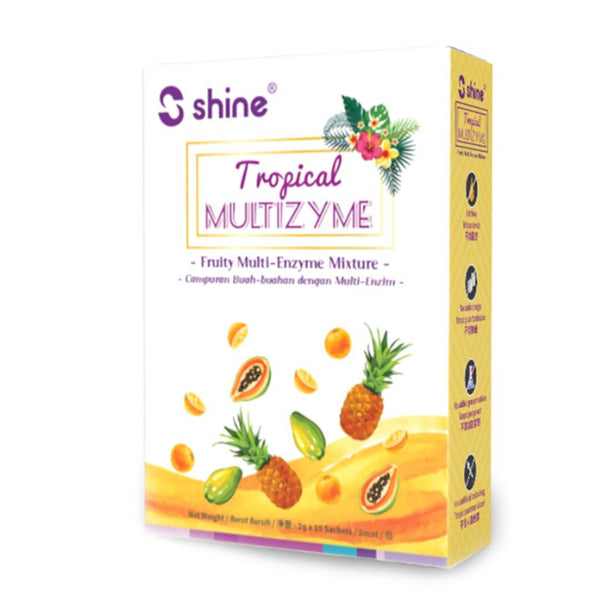Shine Tropical Multizyme (10x 2 g)