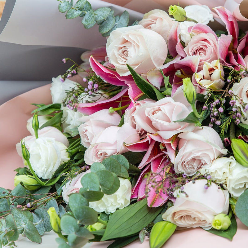 Tessa Lily & Rose Bouquet (MD)