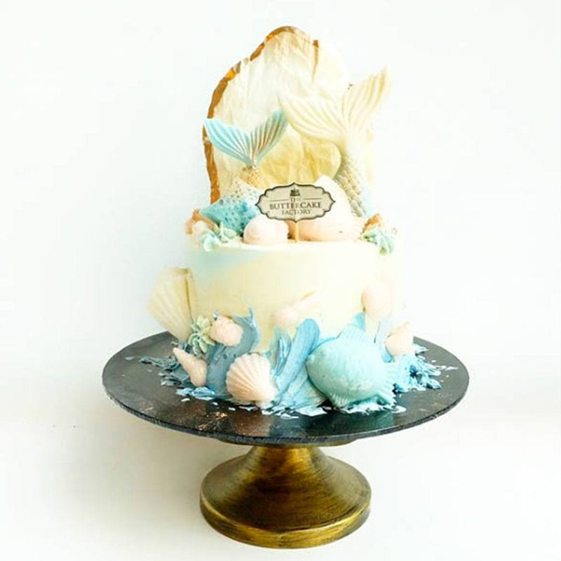Darling Blue Mermaid Cake