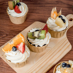 Tropical Fruits Cupcakes