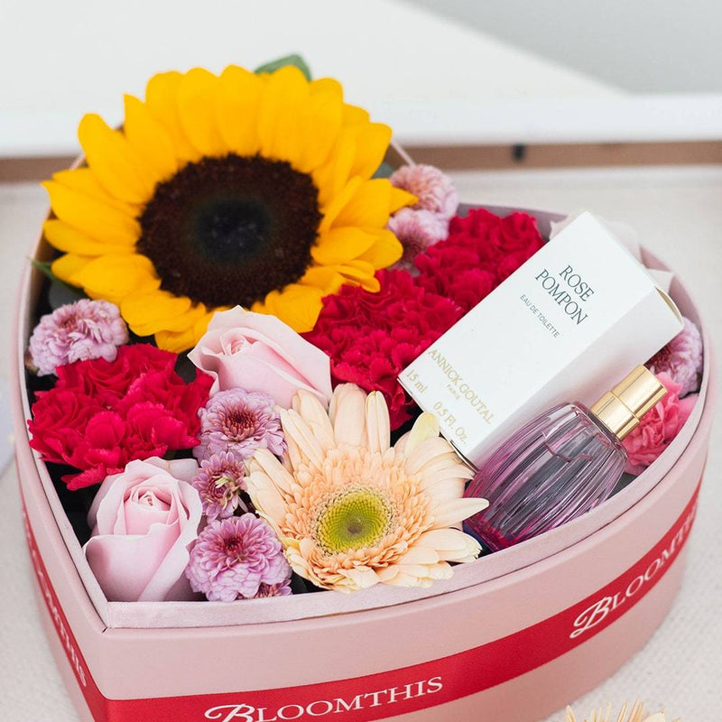 Catherine Heart Box Flowers Diy Kit Make Your Own Bloomthis