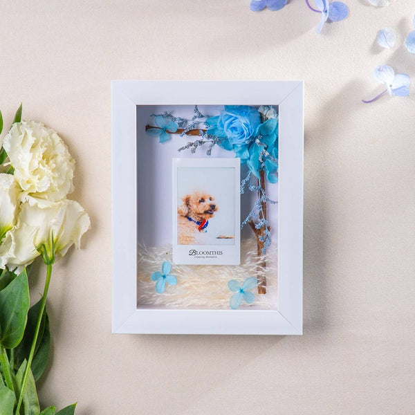 Love Count On Me Photo & Flower Frame