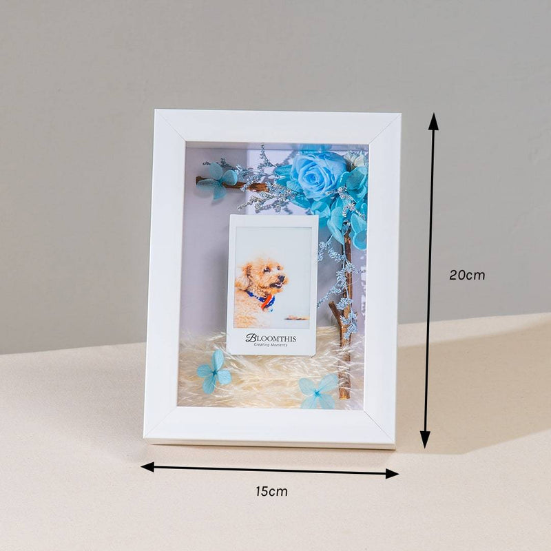 Adore Count On Me Photo & Flower Frame