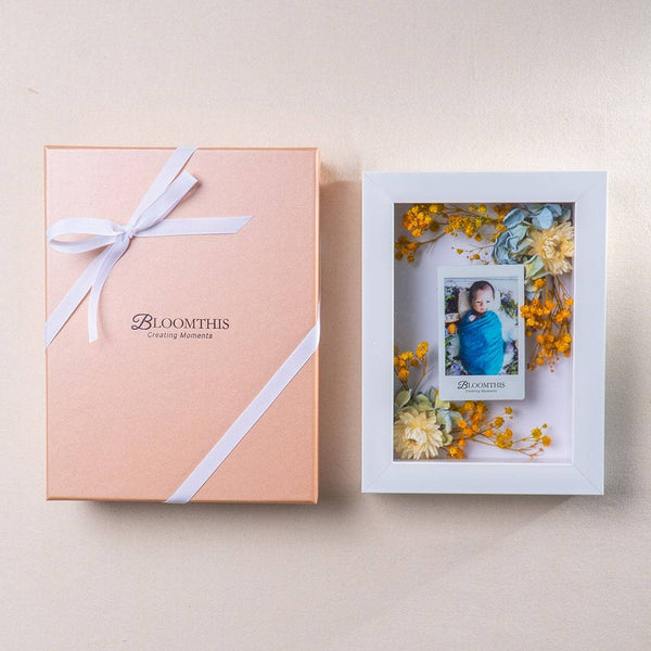 Adore Eternal Sunshine Photo & Flower Frame