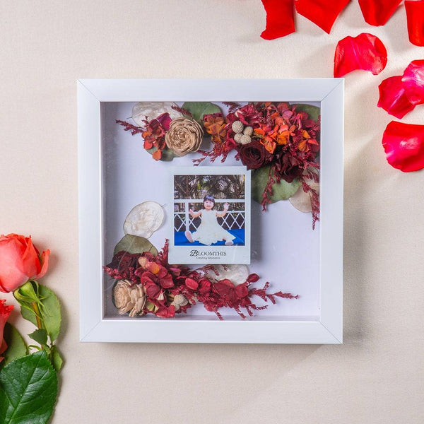 Adore Here To Stay Photo & Flower Frame