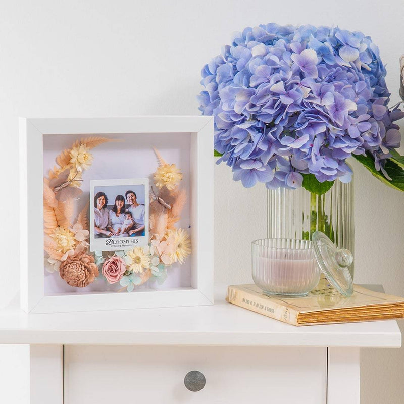 Moment In Time Photo & Dried Flower Frame (MD)
