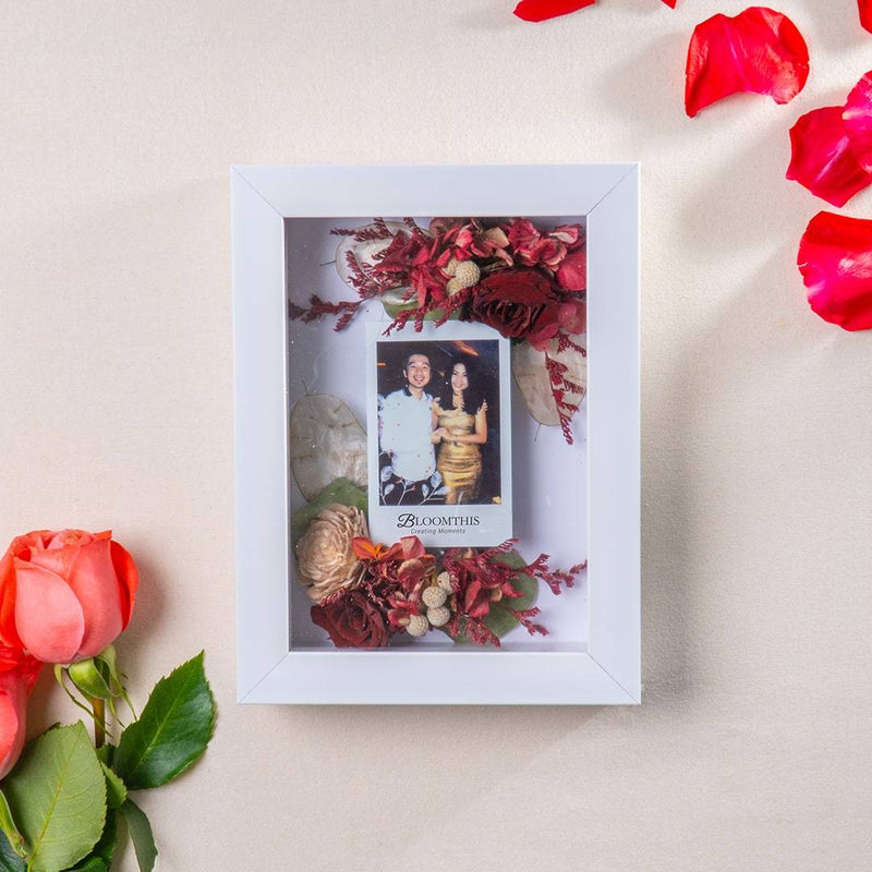 Love Together Forever Photo & Flower Frame