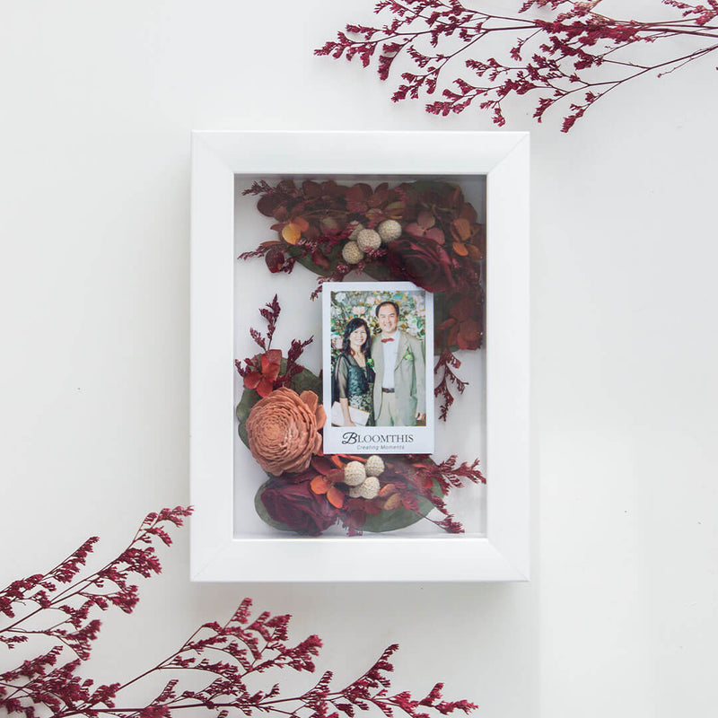 Together Forever Photo & Flower Frame