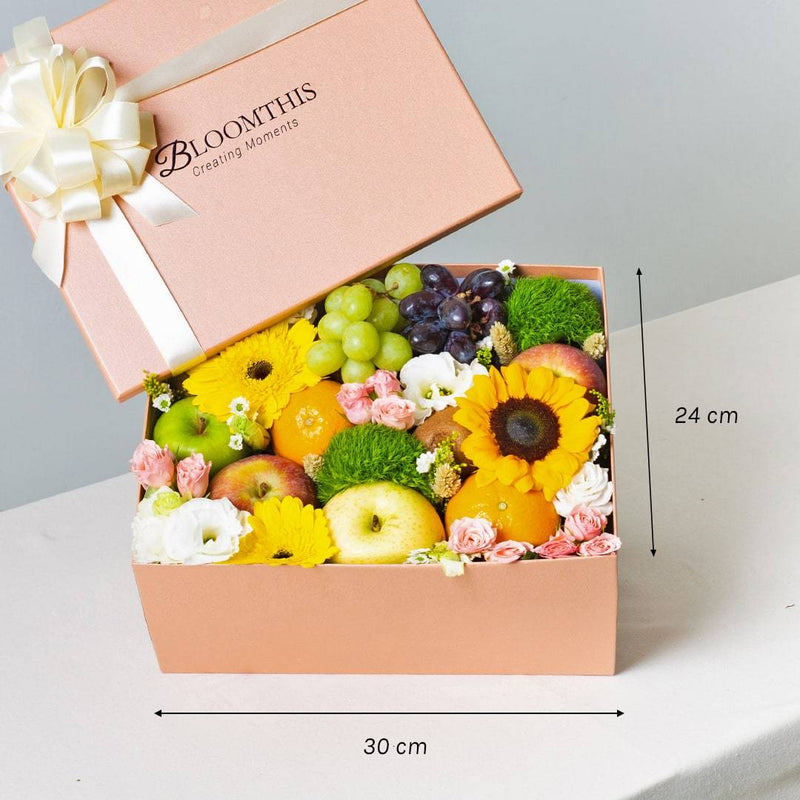 Luciana Fruit & Flower Box