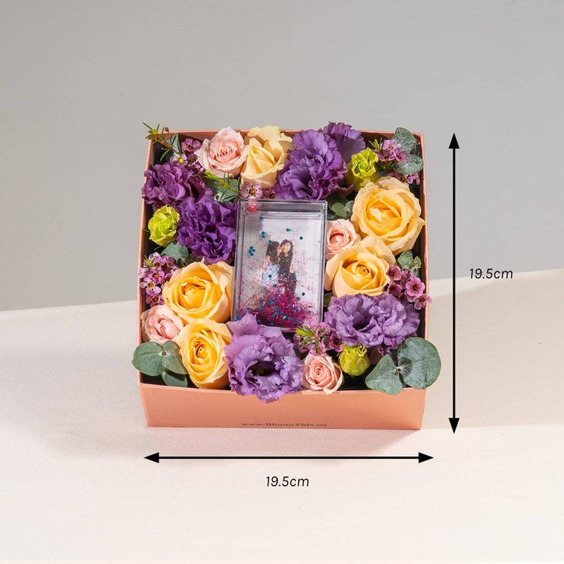 Love Buena Photo & Flower Box