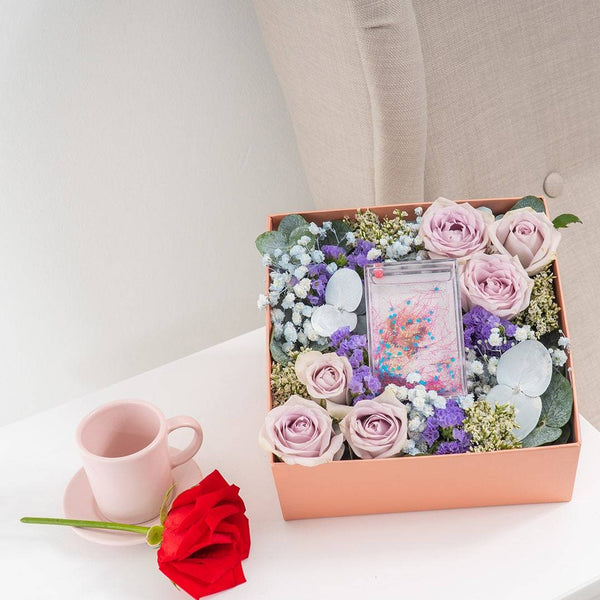 Adore Calia Photo & Flower Box