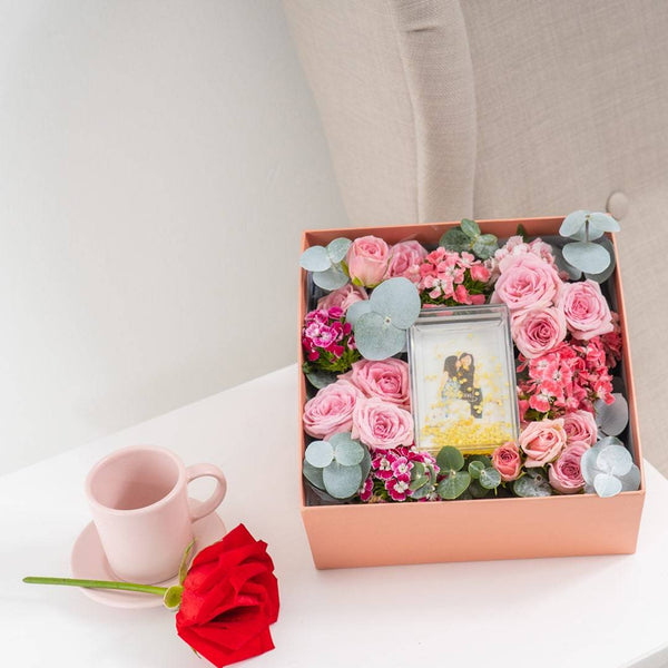 Adore Charis Photo & Flower Box