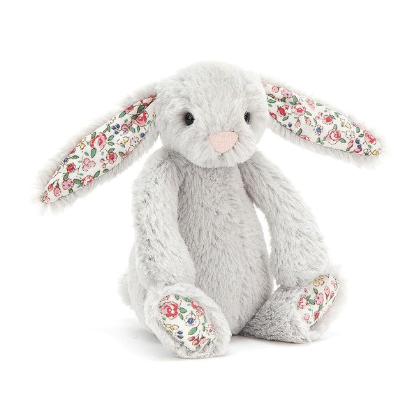 Jellycat Baby Blossom Silver Bunny (13cm)