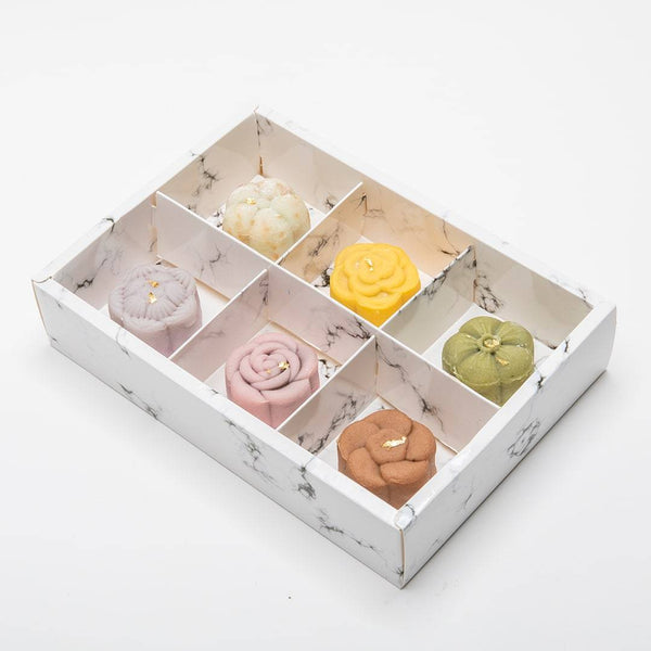 Buttercake Factory 6-Piece Snow Skin Mooncake Box