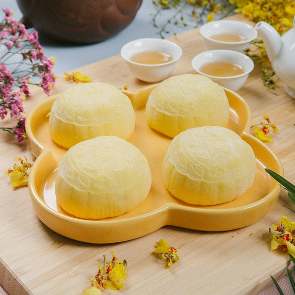 Tai Thong 4-Piece Musang King Durian Mooncake Box