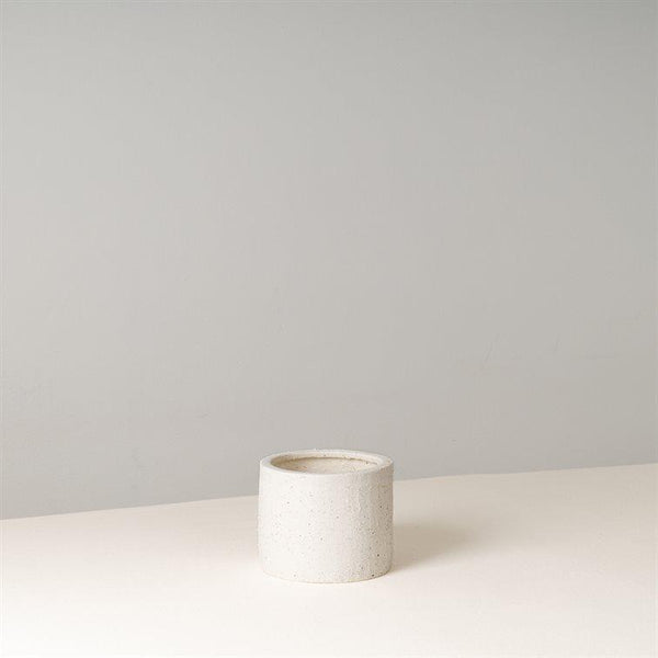 YRREJ Cream Ceramic Pot 11 cm (D)