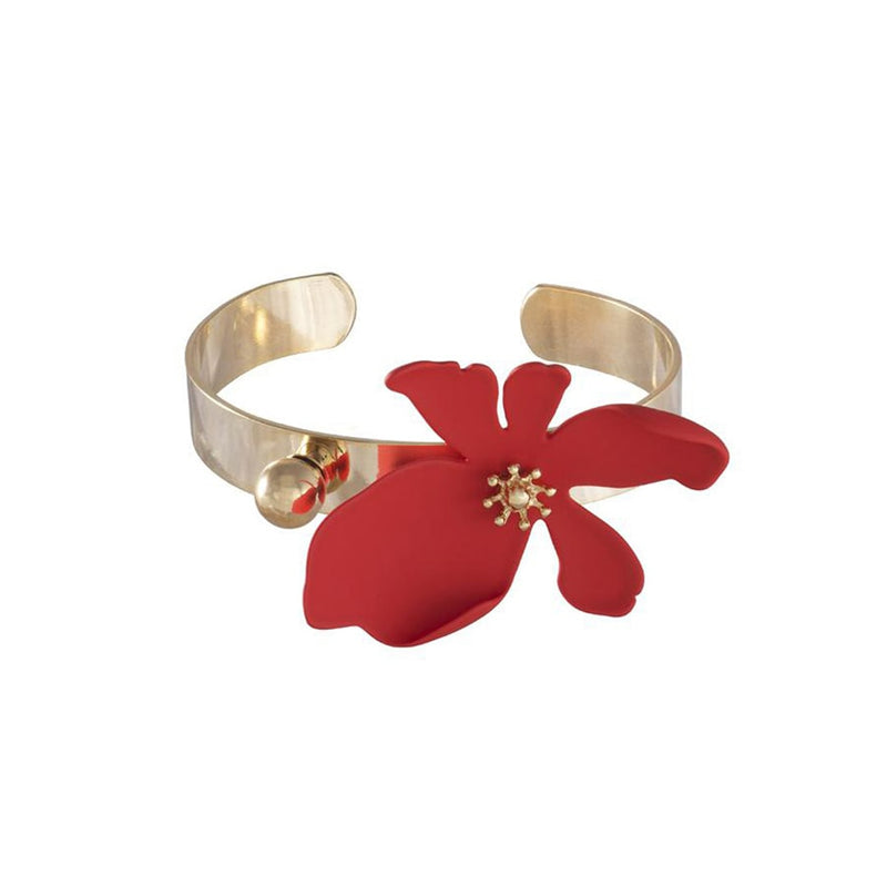 Wanderlust + Co Camilla Red Cuff