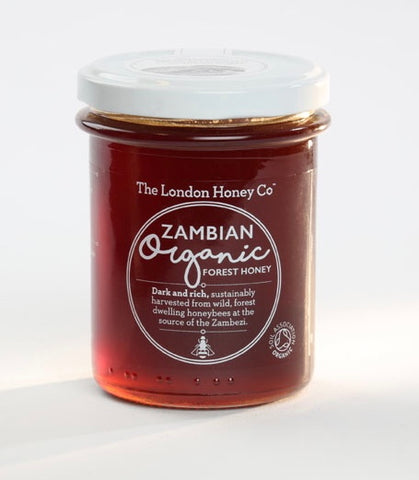 ORGANIC HONEY, FROM THE ZAMBIAN FOREST JAR 250G