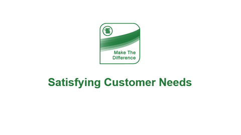 The Bottom Line: Satisfying Customer Needs
