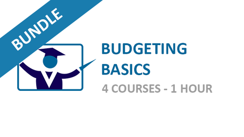 Budgeting Basics: Courses Bundle