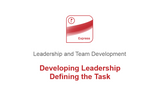 Developing Leadership: Defining the Task