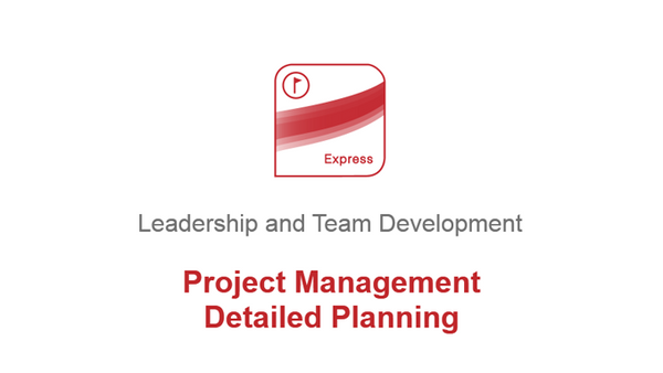 Project Management: Detailed Planning