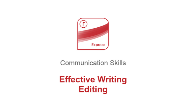 Effective Writing: Editing