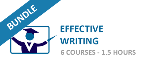 Effective Writing: Courses Bundle