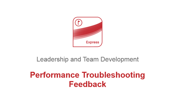 Performance Troubleshooting: Feedback