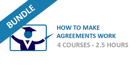 How To Make Agreements Work: Courses Bundle