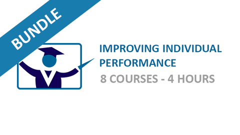 Improving Individual Performance: Courses Bundle