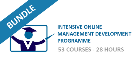 Intensive Online Management Development Programme