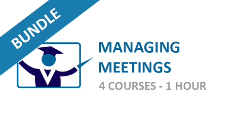Managing Meetings: Courses Bundle
