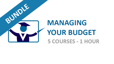 Managing Your Budget: Courses Bundle
