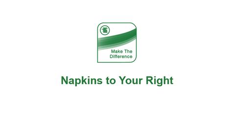The Bottom Line: Napkins to Your Right