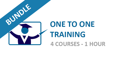One to One Training: Courses Bundle