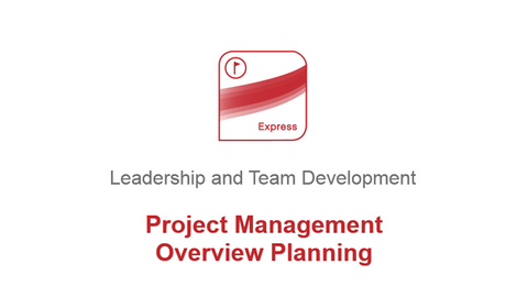 Project Management: Overview & Planning