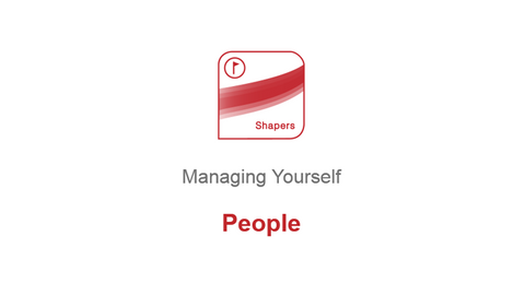 Managing Yourself: People